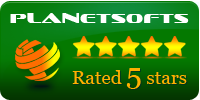 3SAccounting : 5 Stars award on Planetsofts