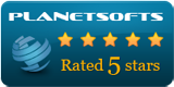 CustomerBase : 5 Stars award on Planetsofts