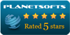 Logix Employee Monitor : 5 Stars award on Planetsofts